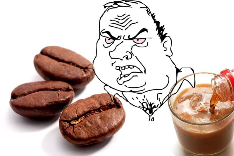 Кофе с колой — за и против