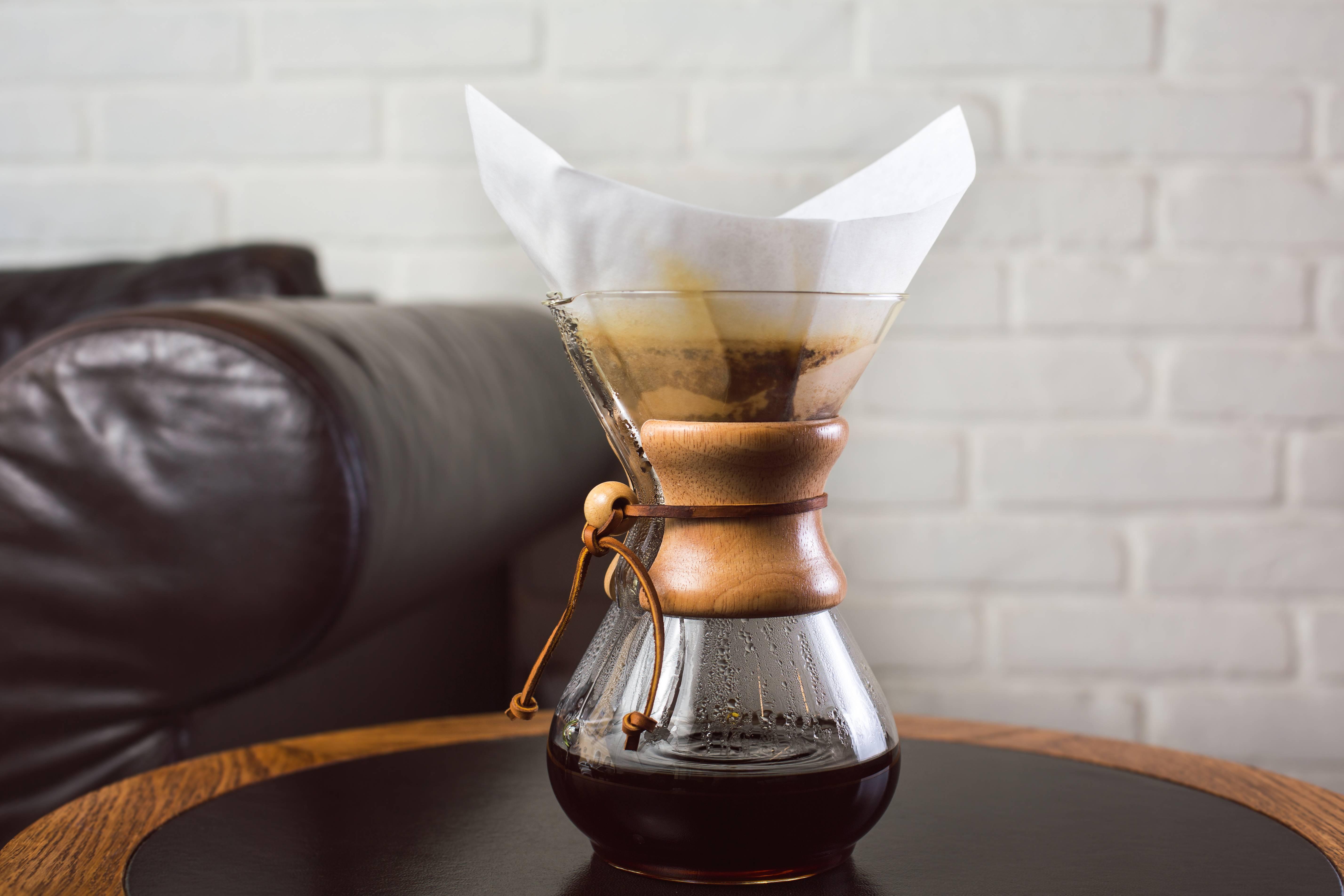 Как заваривать кофе в кемексе: методика приготовления