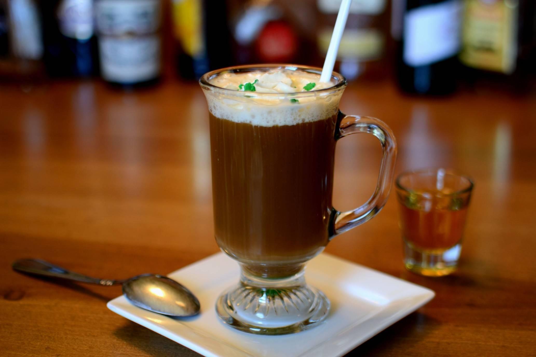 Ирландский кофе крем: технология приготовления и история появления