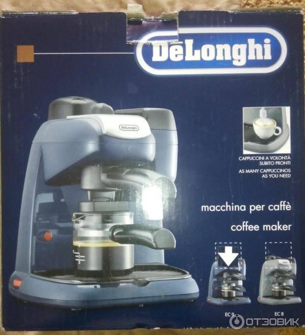 Как почистить кофеварку от накипи на примере delonghi dedica ec 680