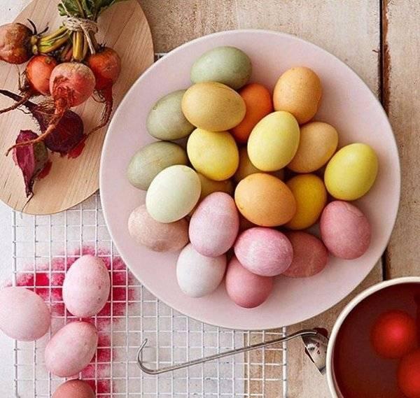 Как покрасить яйца на пасху, используя натуральные (природные) красители