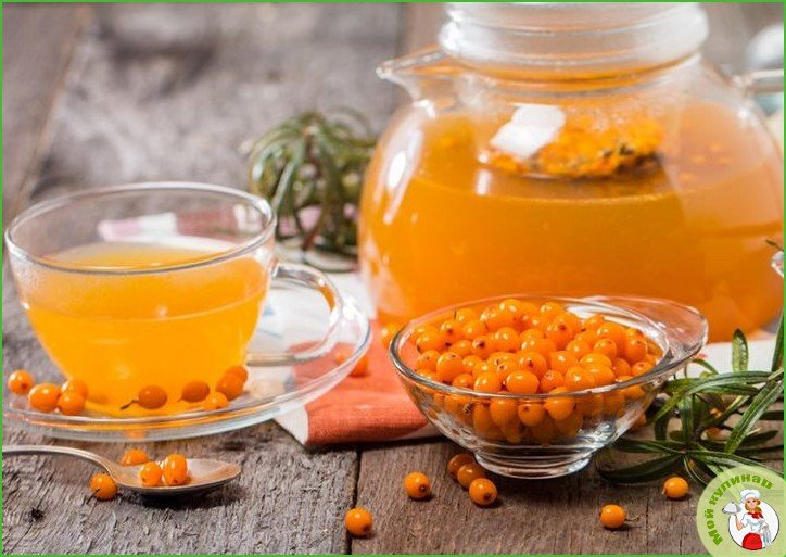 Облепиховый чай: лучшие рецепты приготовления полезного чая