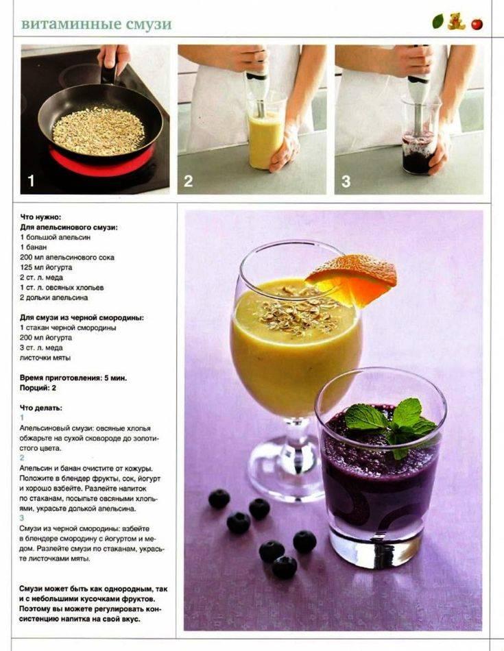 Как приготовить смузи: 5 рецептов в блендере