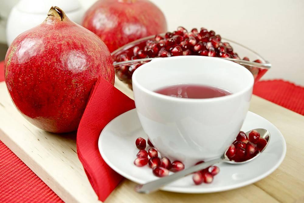 Чем полезен гранатовый чай из турции, состав и свойства. турецкий гранатовый чай: из цветков, корок, листьев.
