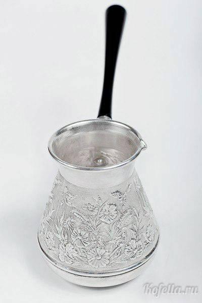 Эмалированная турка для кофе | турка для кофе