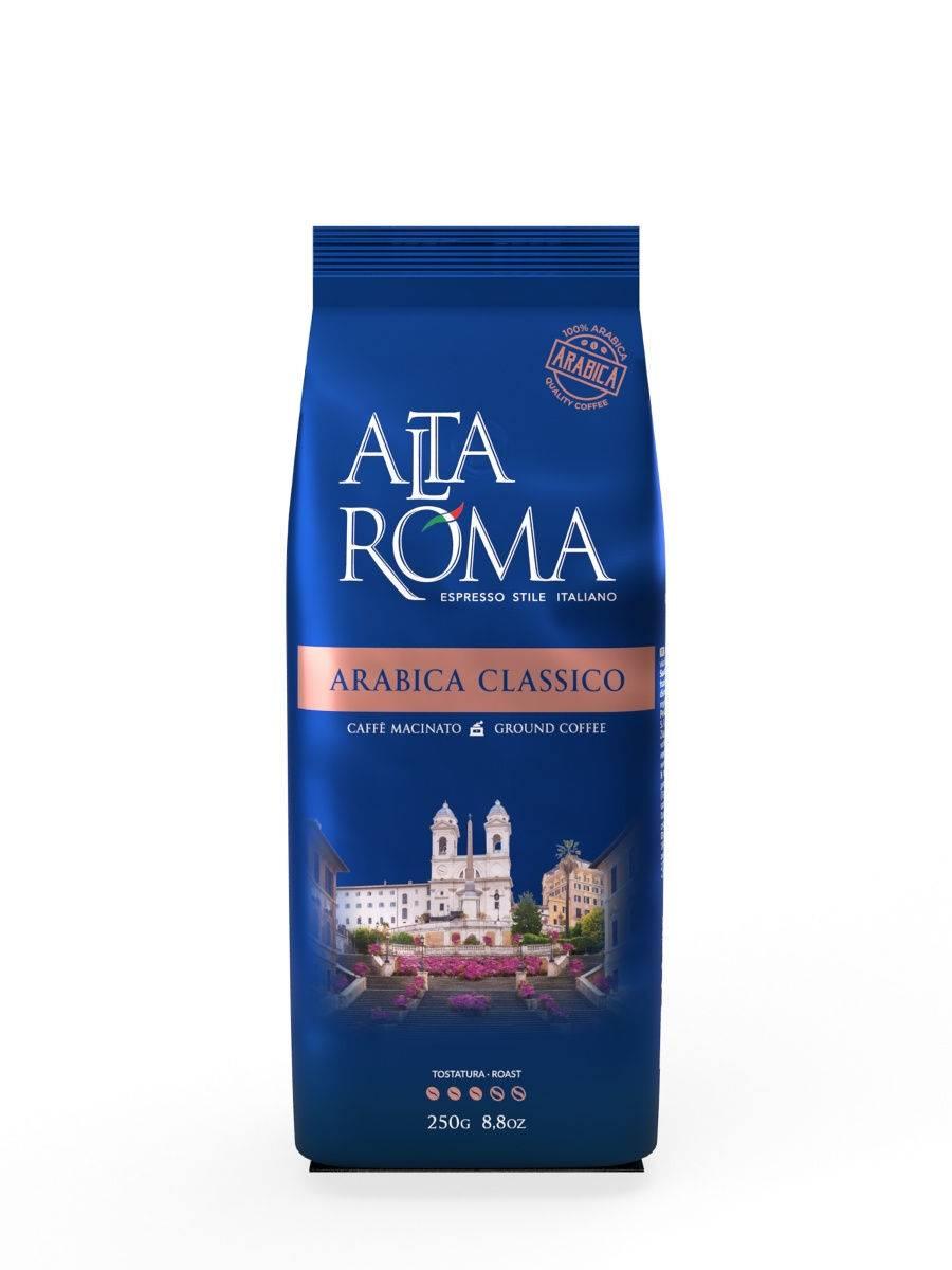 Кофе в зернах alta roma crema 1кг.