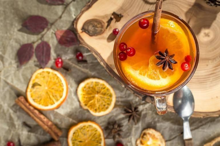 Рецепт пряный апельсиновый чай со специями