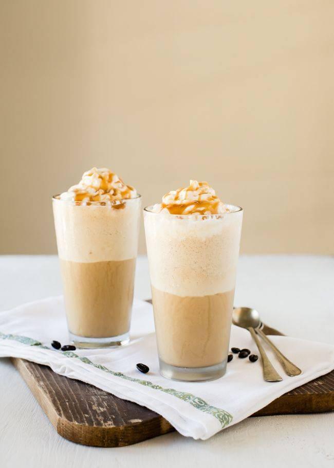 Все рецепты приготовления кофе айс капучино