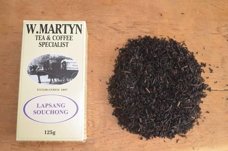 Лапсанг сушонг - любимый чай уинстона черчилля.