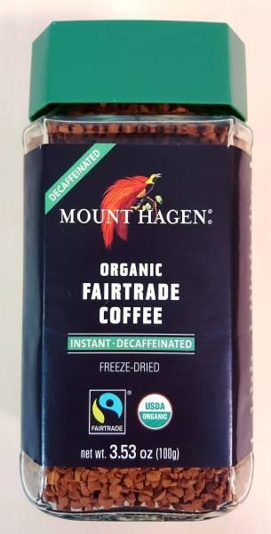 Растворимый кофе без кофеина - как делают, названия и марки