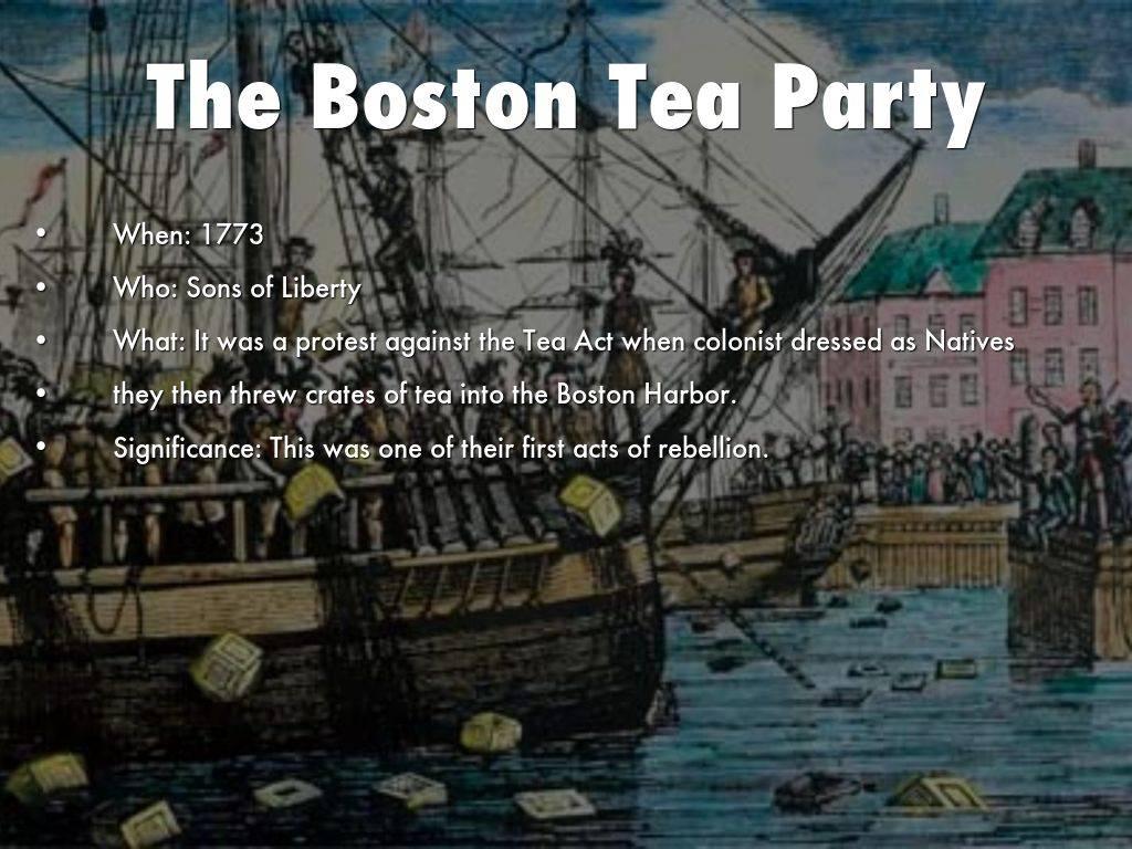 Бостонское чаепитие