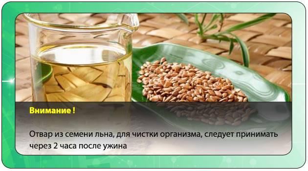Семена льна. лечебные рецепты с фото.