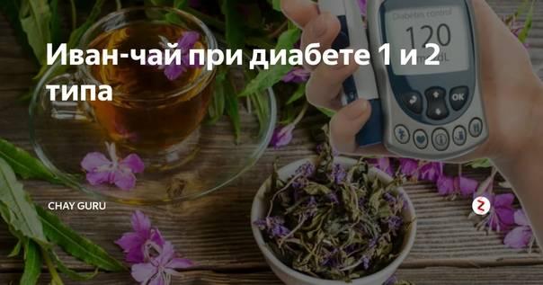 Иван-чай при сахарном диабете