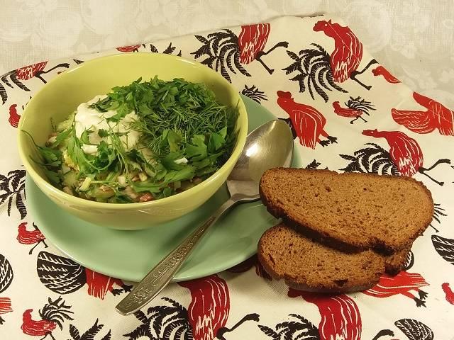 Вкусные рецепты классической окрошки на квасе — любимое освежающее блюдо