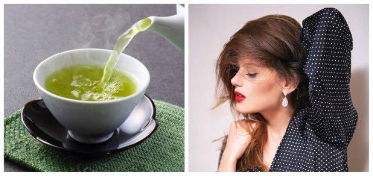 Разные виды чая для волос