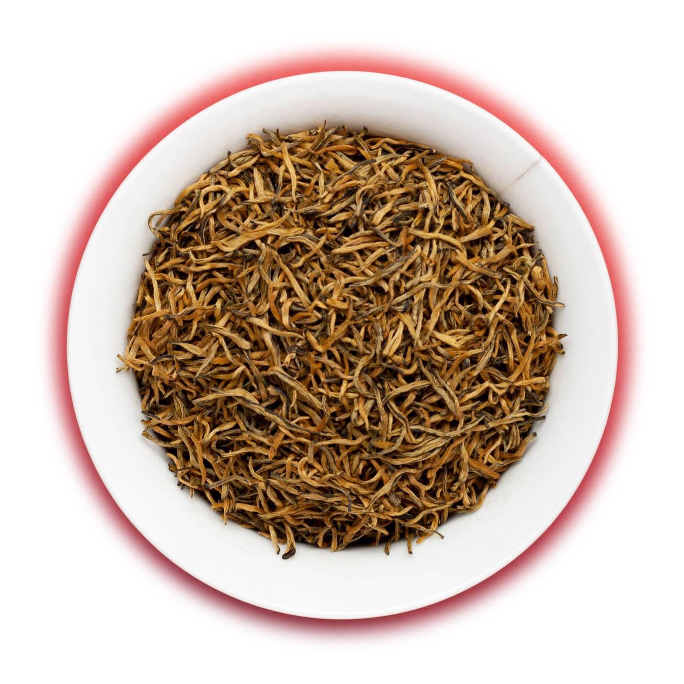 Золотые брови (цзинь цзюнь мэй) — китайский красный чай