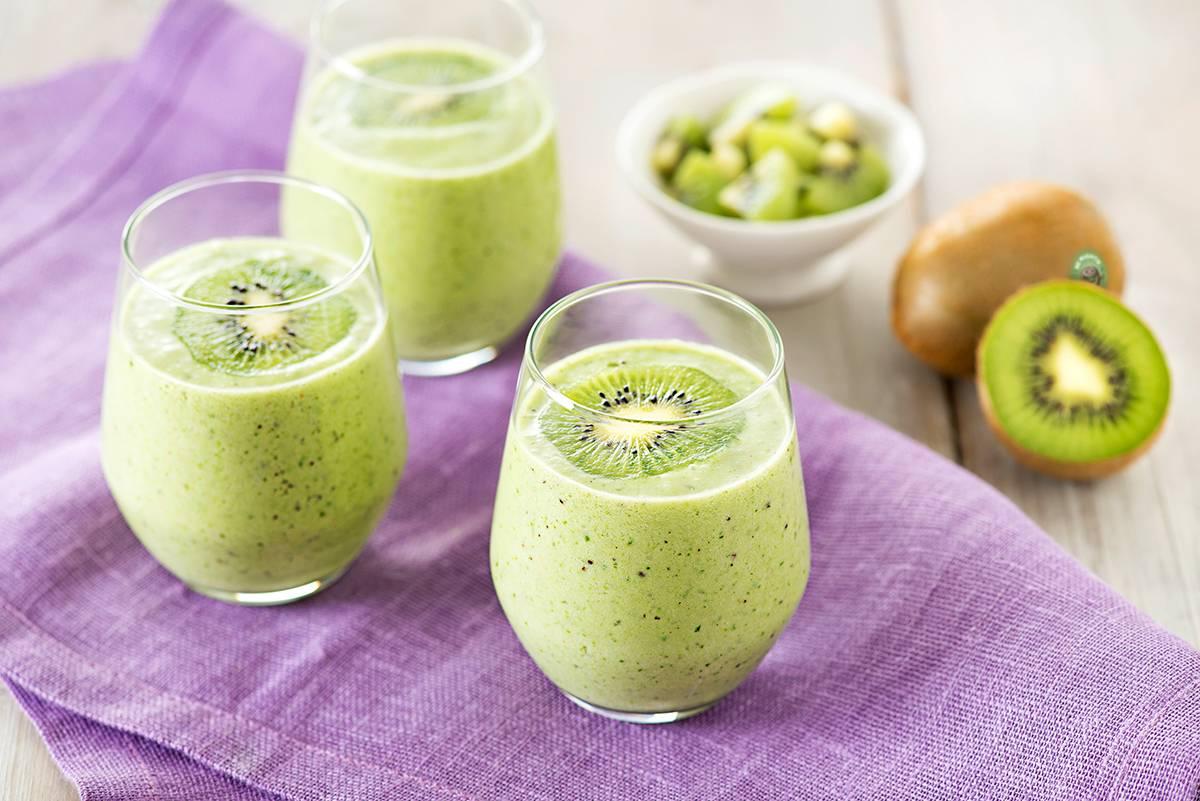 Смузи из киви - чем полезно и как приготовить - вкусные рецепты