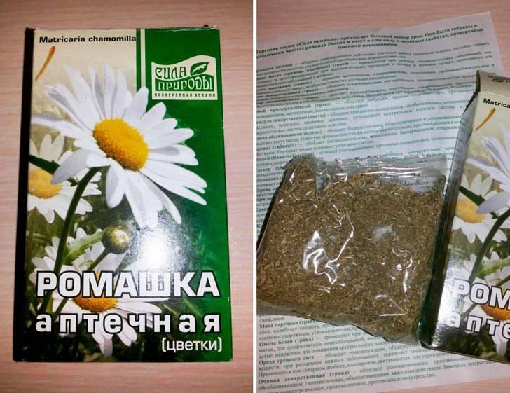 Ромашковый чай для грудничка - польза и вред