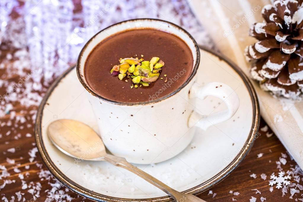 Горячий шоколад «зимний вечер»