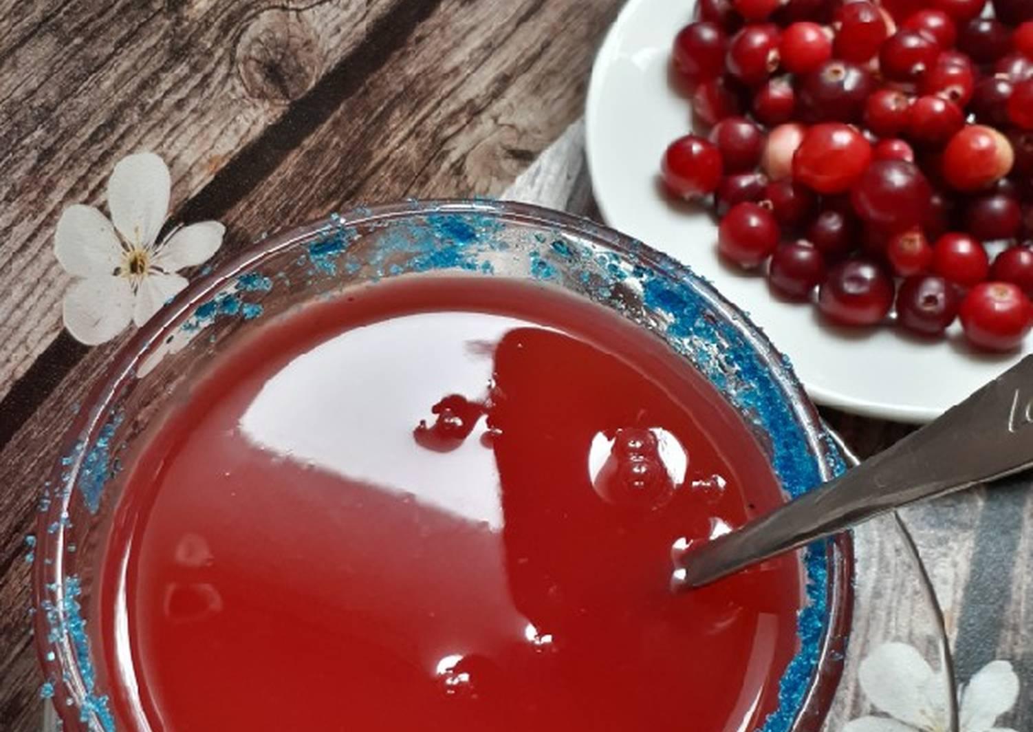 Кисель из клюквы - простые и быстрые рецепты приготовления напитка
