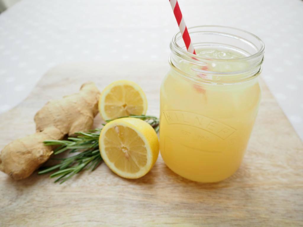 Имбирный лимонад рецепт с фото - 1000.menu