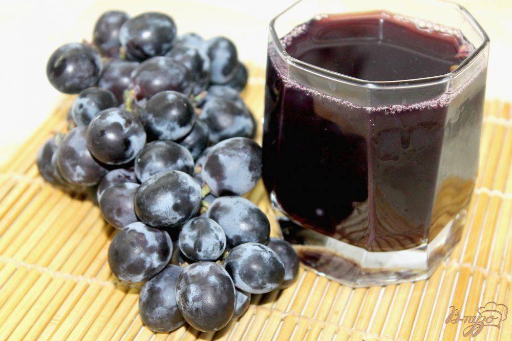 Вкусные компоты из винограда на зиму