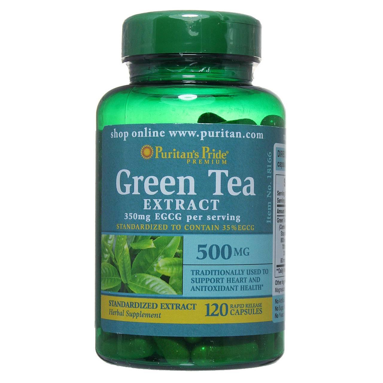 Экстракт зеленого чая для похудения - польза и вред