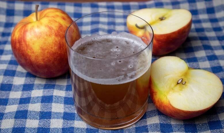 Квас из сушеных яблок