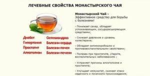 Монастырский чай: состав, способ применения, противопоказания.