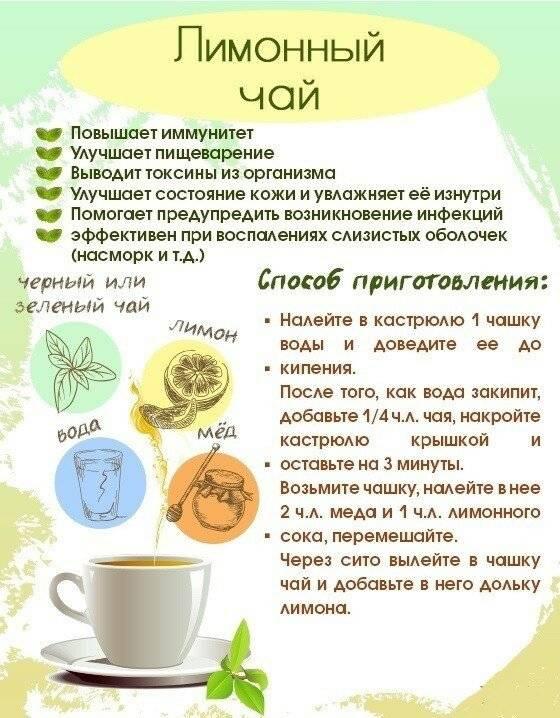 11 рецептов витаминного чая для повышения иммунитета