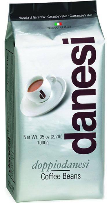Кофе в зернах danesi doppio 2 кг