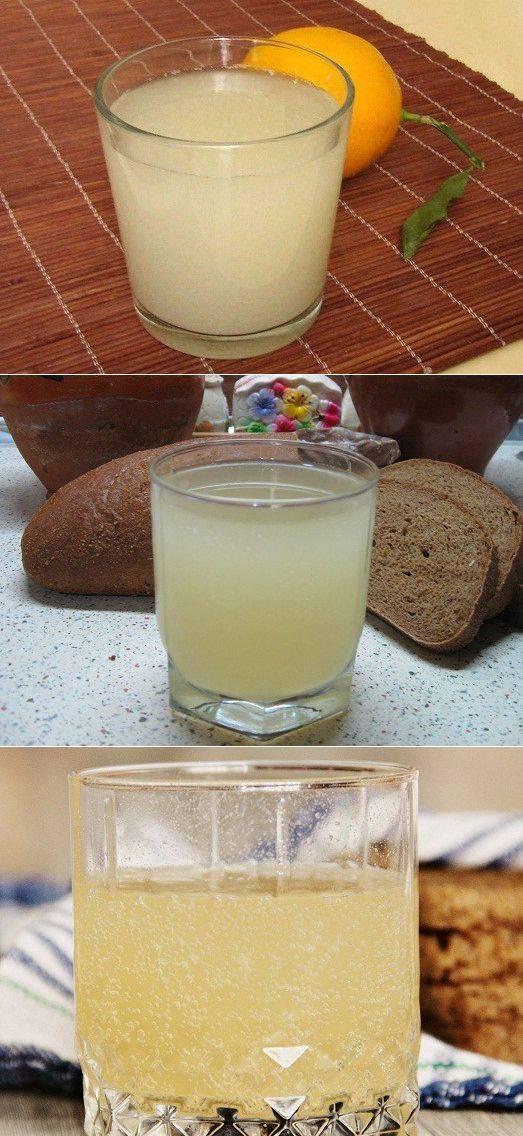Домашний квас — 7 рецептов приготовления хлебного кваса