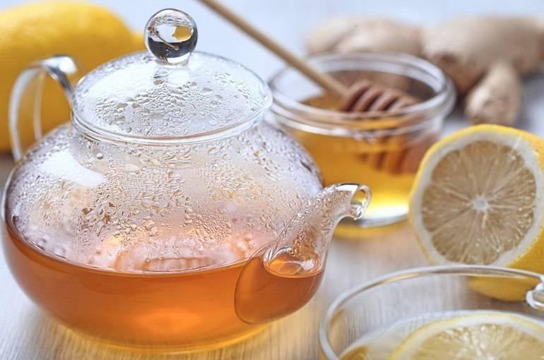 Употребление чая с медом при температуре