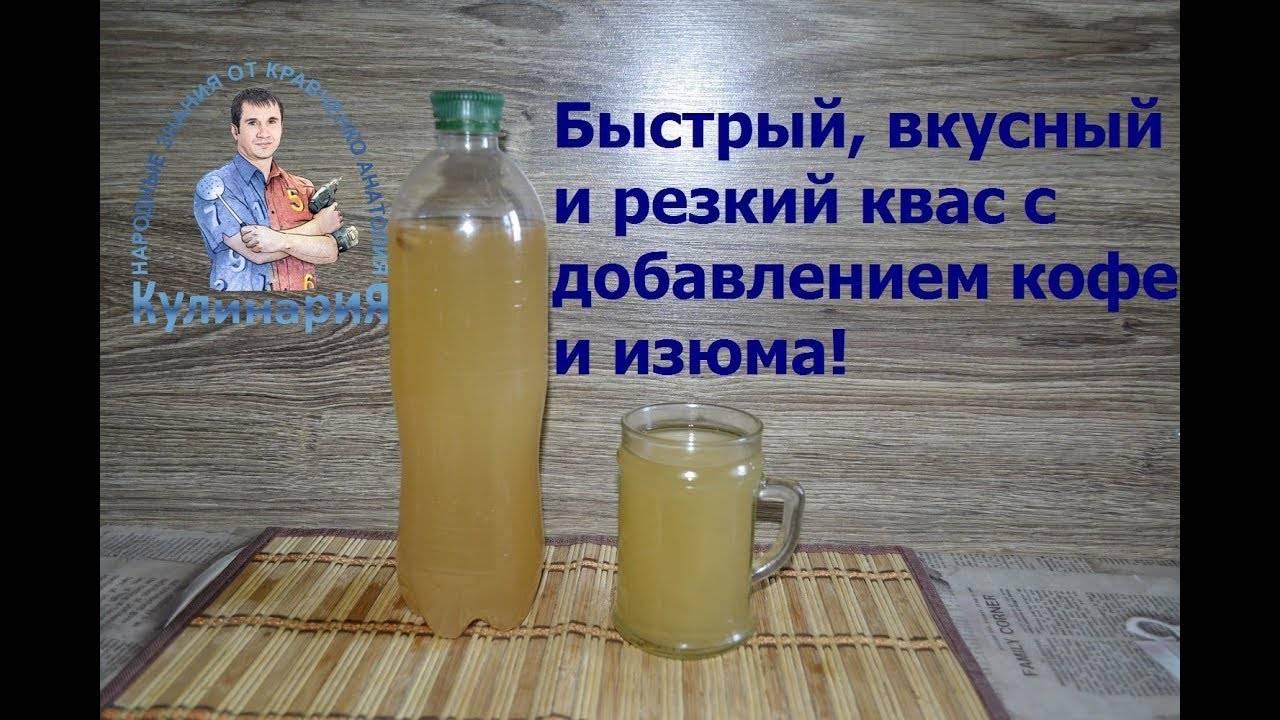 Быстрый квас из растворимого кофе. рецепт с фото   народные знания от кравченко анатолия