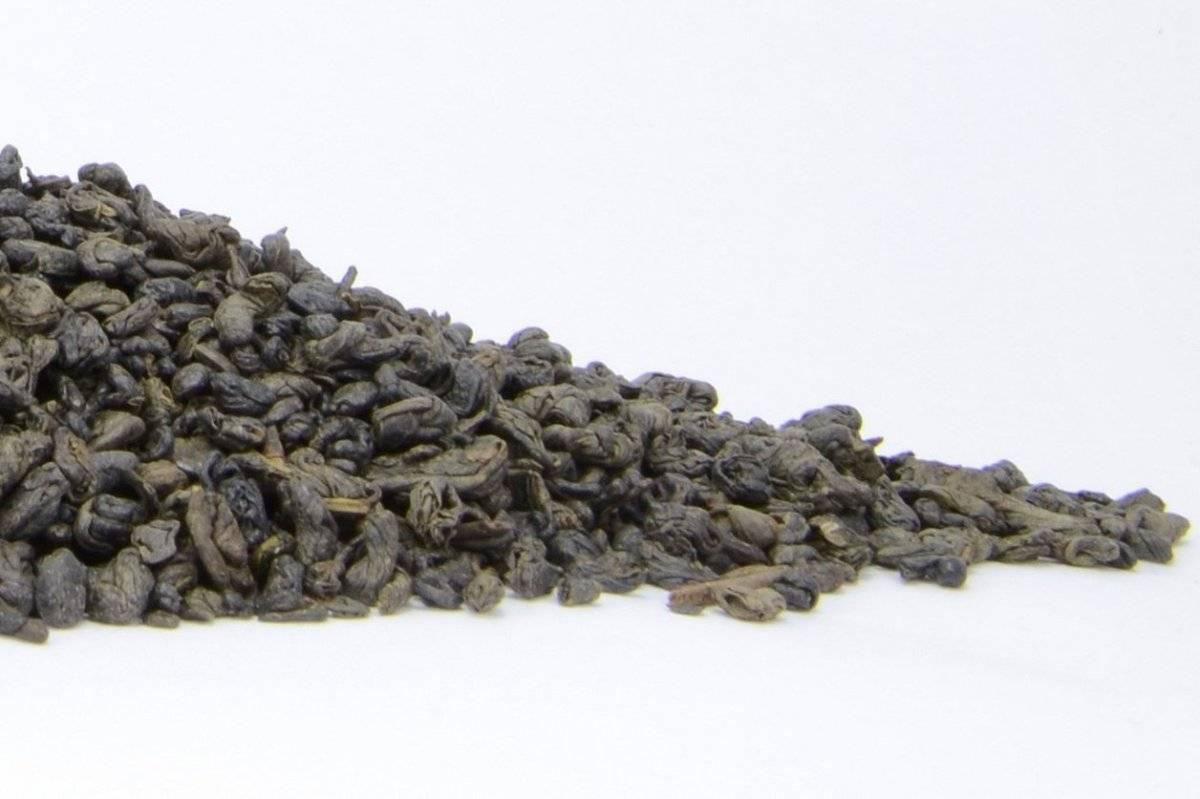 Чай ганпаудер (зеленый порох), свойства китайского чая