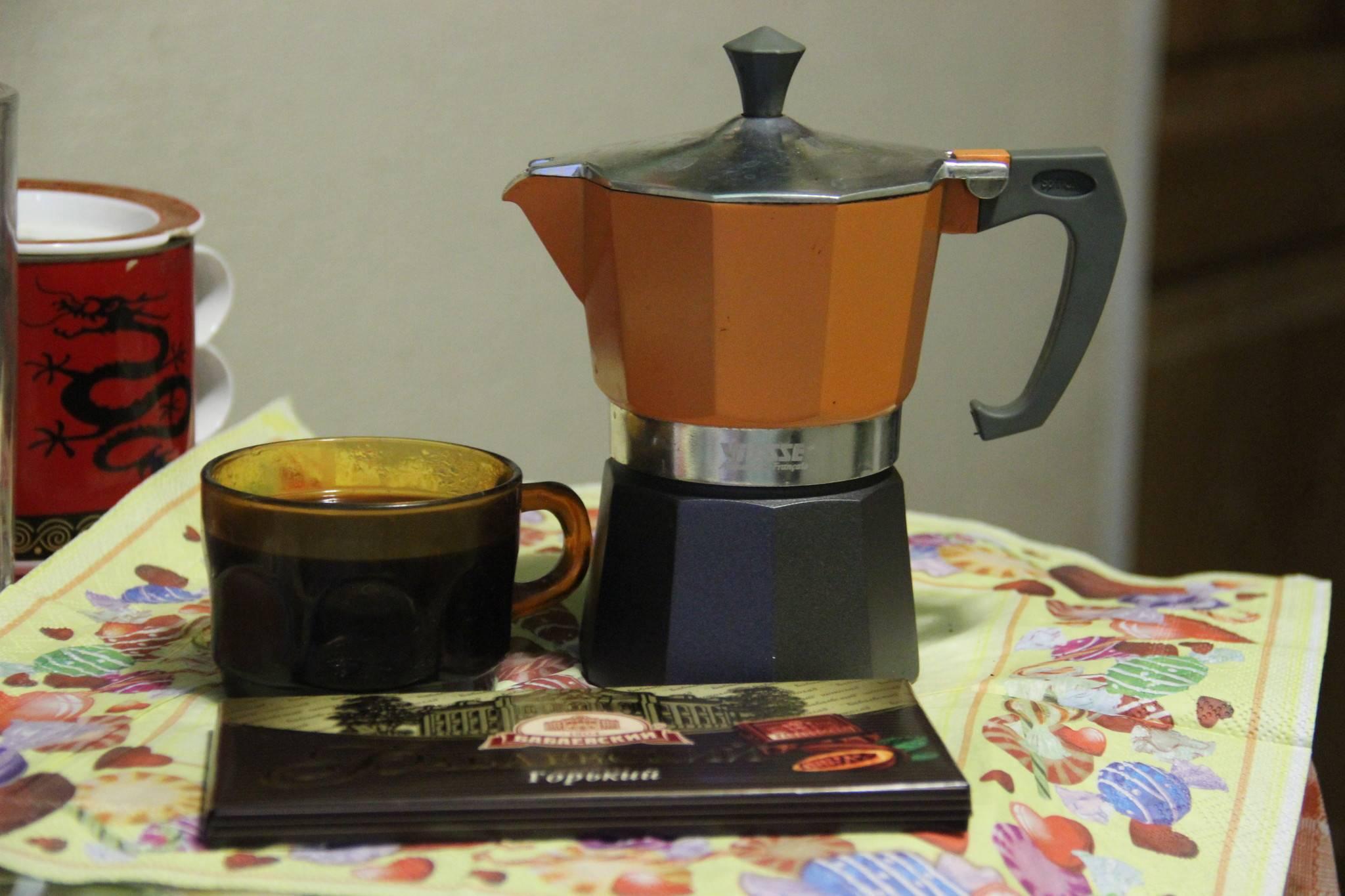 Почему может кислить кофе