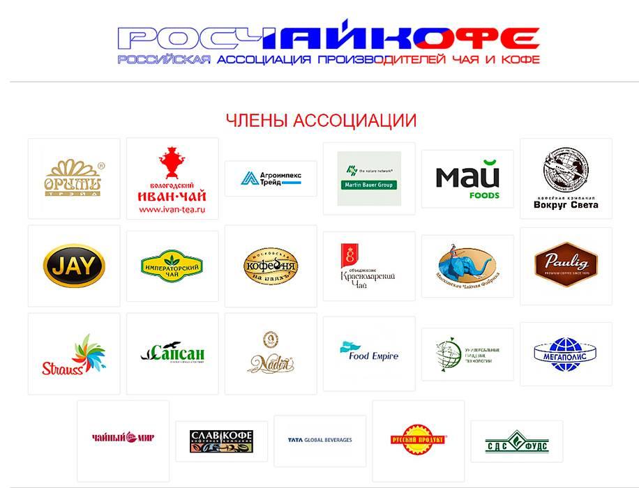 Российские производители чая