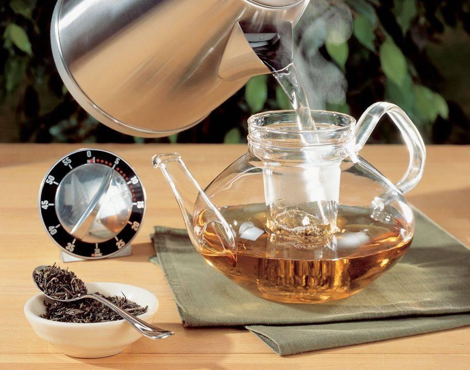 Как правильно заваривать черный чай в заварнике: температура, вода, время, посуда