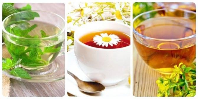 Крепкий чай поможет при диарее