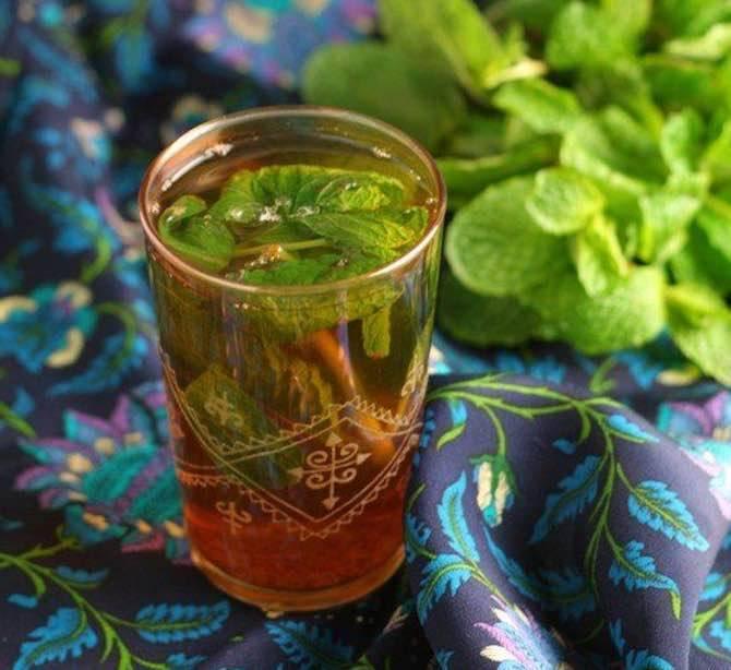 Марокканский чай: рецепт, полезные свойства, происхождение