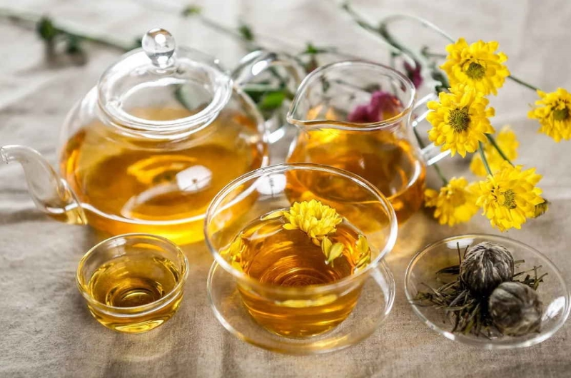 Чай из хризантемы поможет очистить организм | великий чайный путь