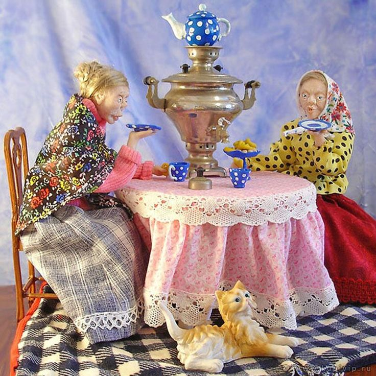 Сценарий досуга «чаепитие у самовара»