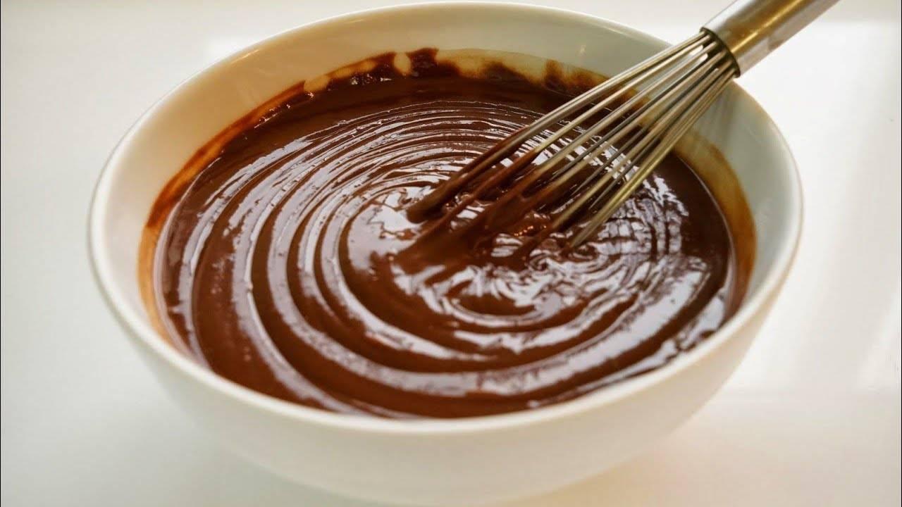 Глазурь для торта из шоколада и масла