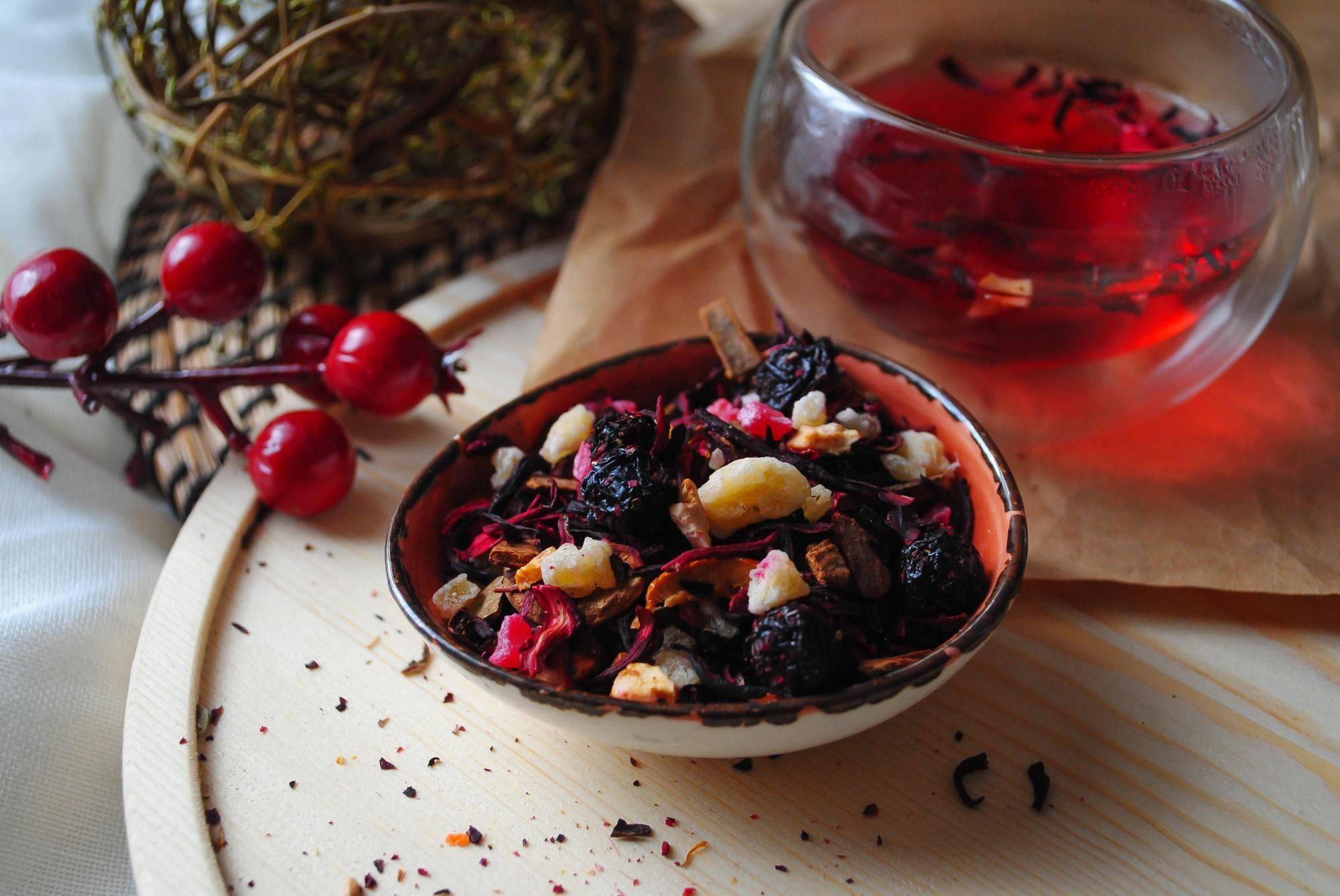 Ягодный чай: вкусно и полезно
