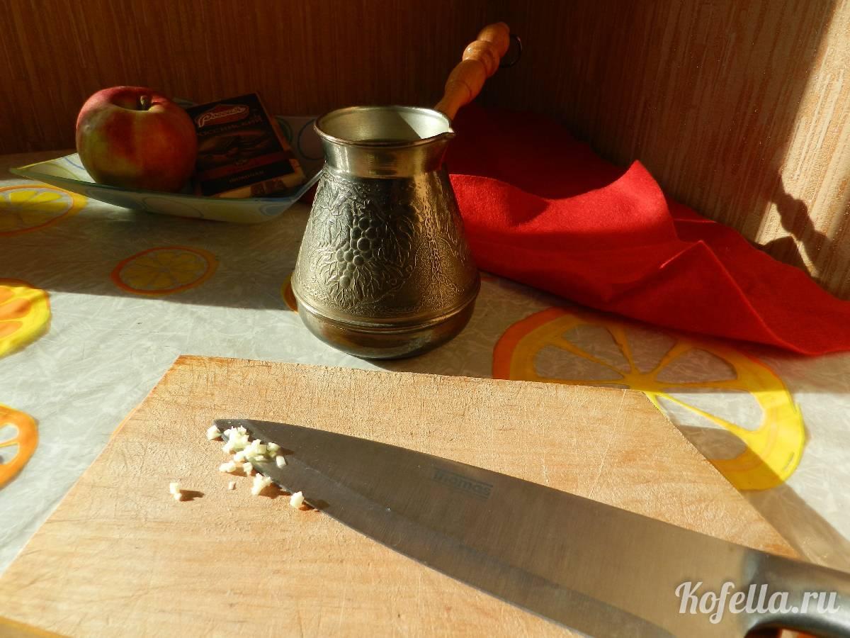 Рецепты приготовления кофе с чесноком