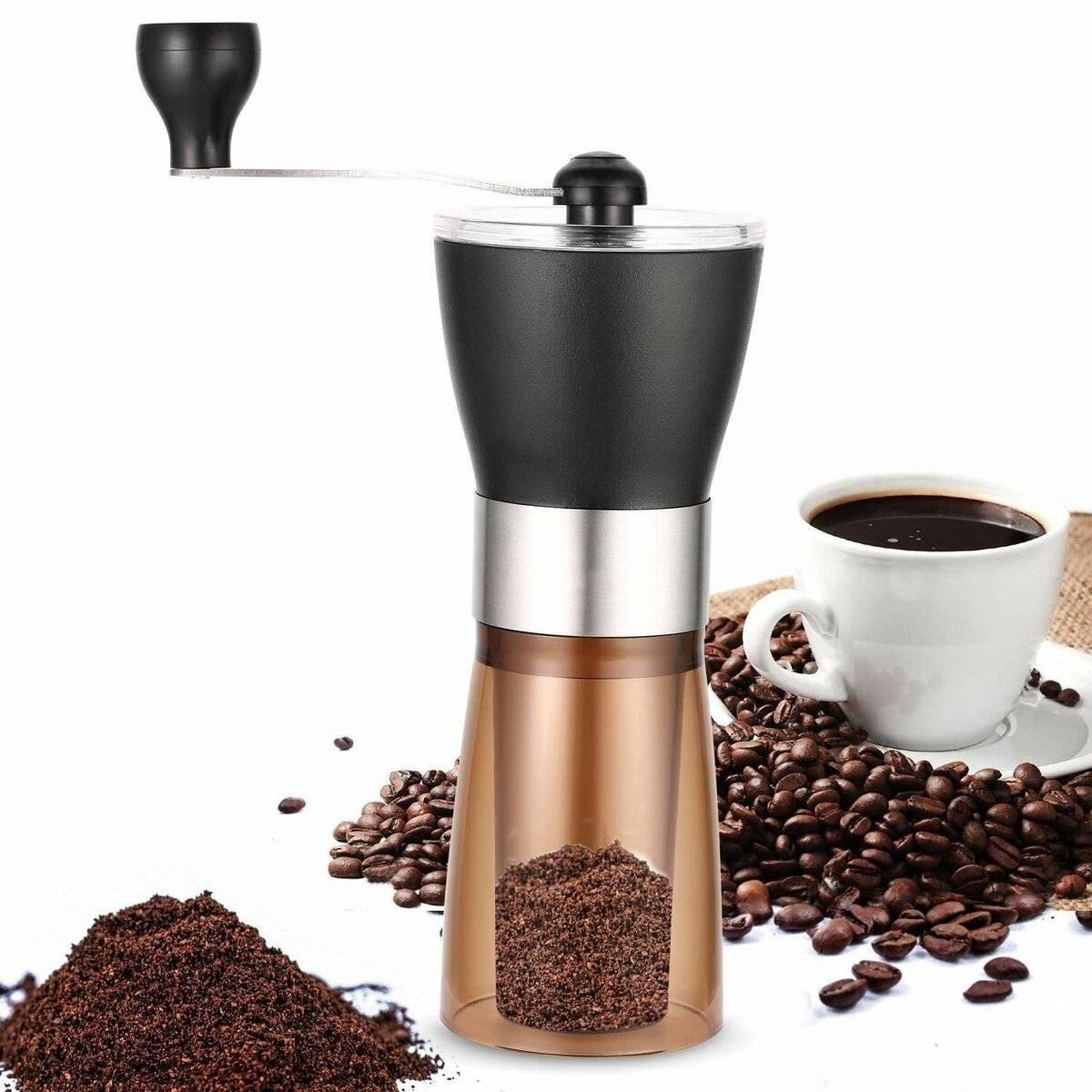 Мельница для кофе: как выбрать ручную или механическую кофемолку