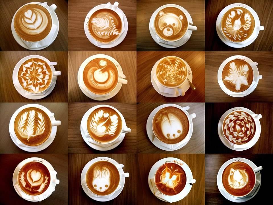 Кофе-арт (латте-арт) или рисунки на кофе