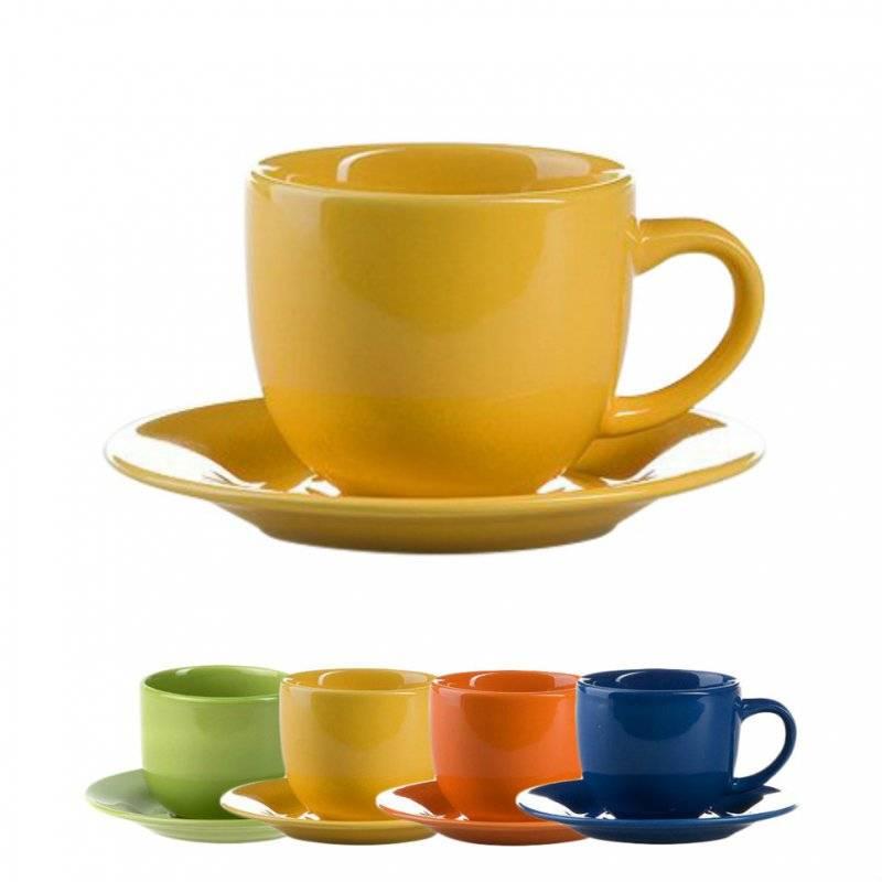 Разновидности наборов чашек с блюдцами: что выбрать