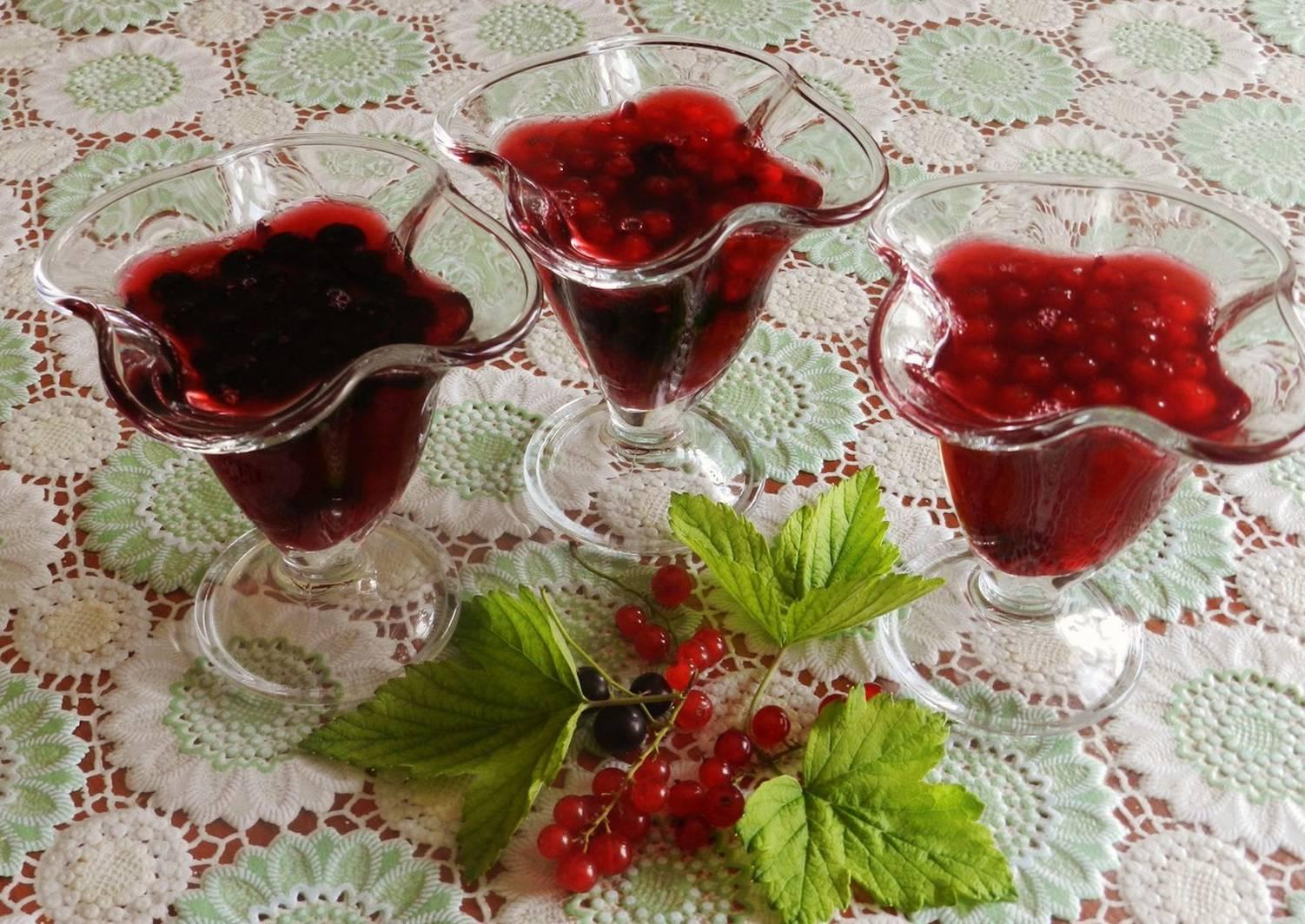 Кисель из замороженных ягод клюквы и черной смородины рецепт с фото - 1000.menu