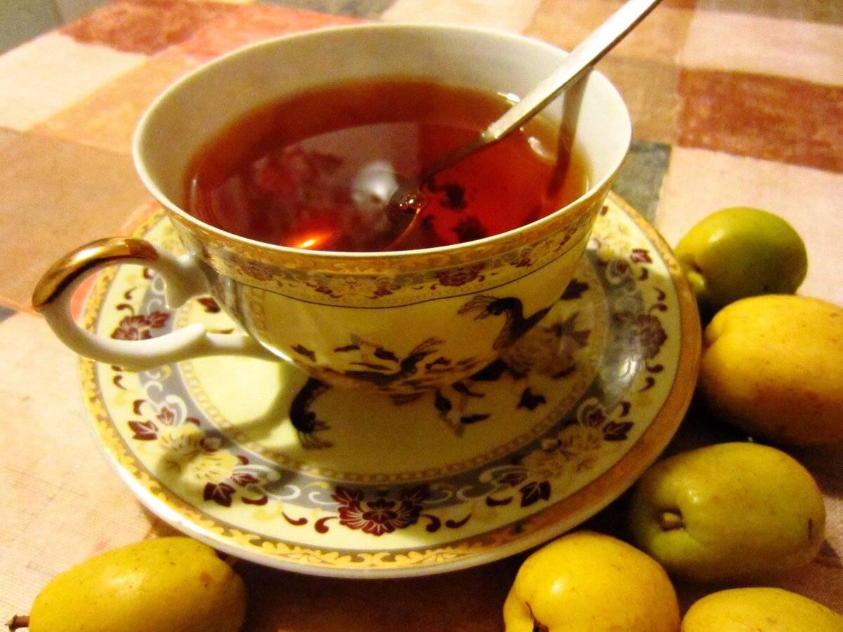 Чай с айвой, полезные свойства, рецепты приготовления